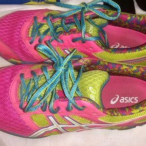 Asics Neon/Hot Pink Sneakers